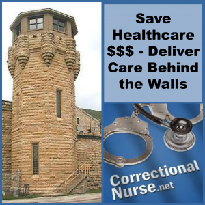 Save Healthcare $$$ - Deliver Care Behind the Walls