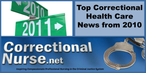 Top Correctional Health Care News from 2010