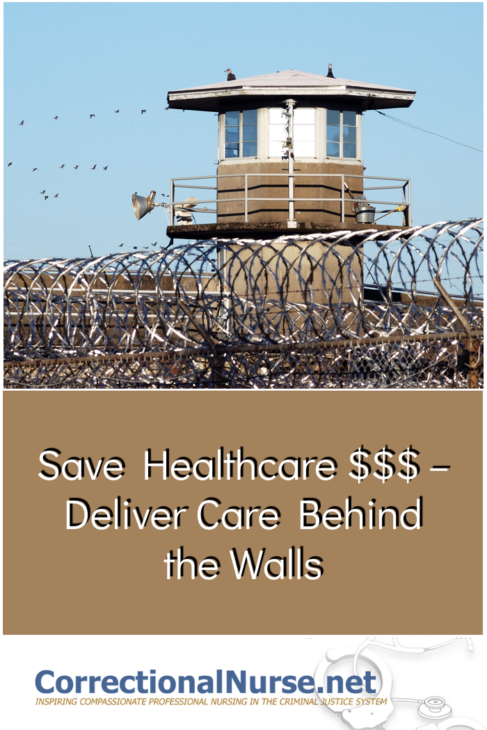 Lets discuss the factors that make onsite healthcare efficient and effective for the corrections community. Save healthcare money and deliver care behind the walls.