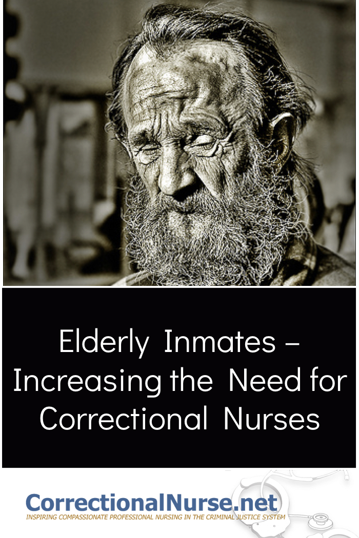 Costs have been escalating for many reasons, not a small one is the increasing age of the inmate population. The elderly inmates increasing the need for correctional nurses.