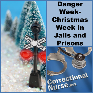 danger week christmas week in jails and prisons