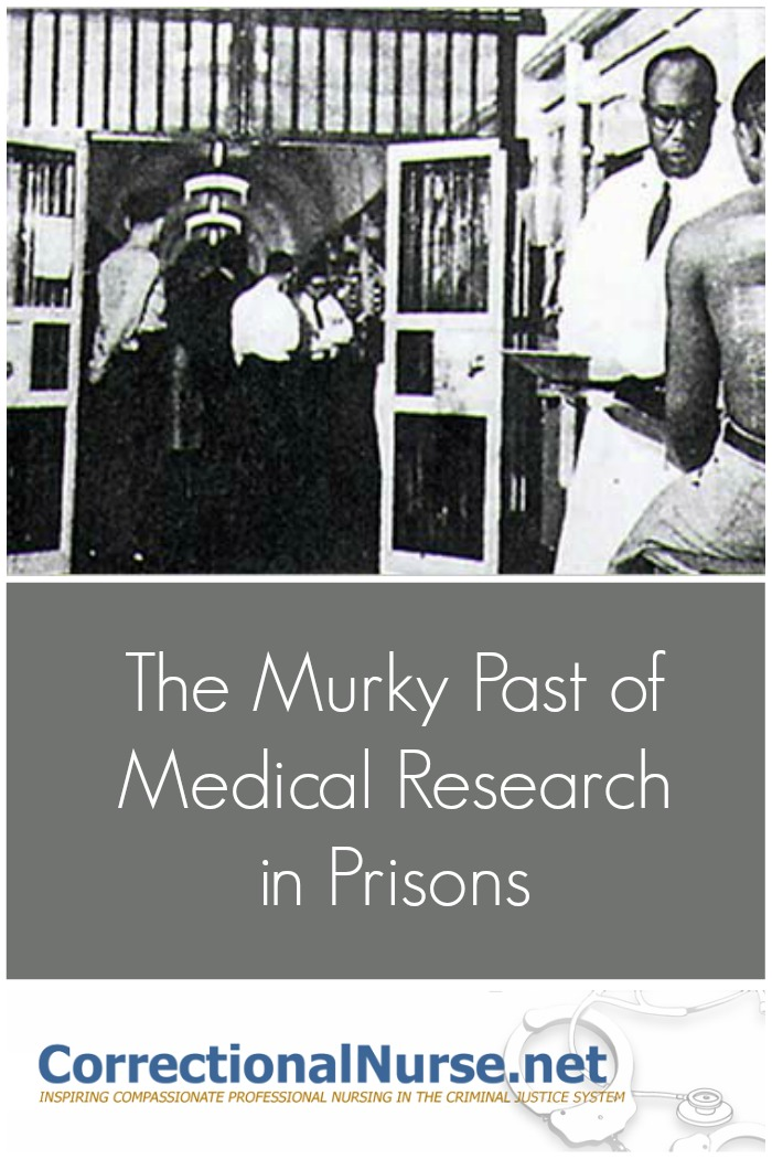 While investigating the history of medical research in prisons for a writing project, I found the extent of abused inmates for medical research purposes.