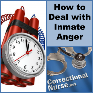 How to Deal with Inmate Anger