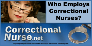 Who Employs Correctional Nurses