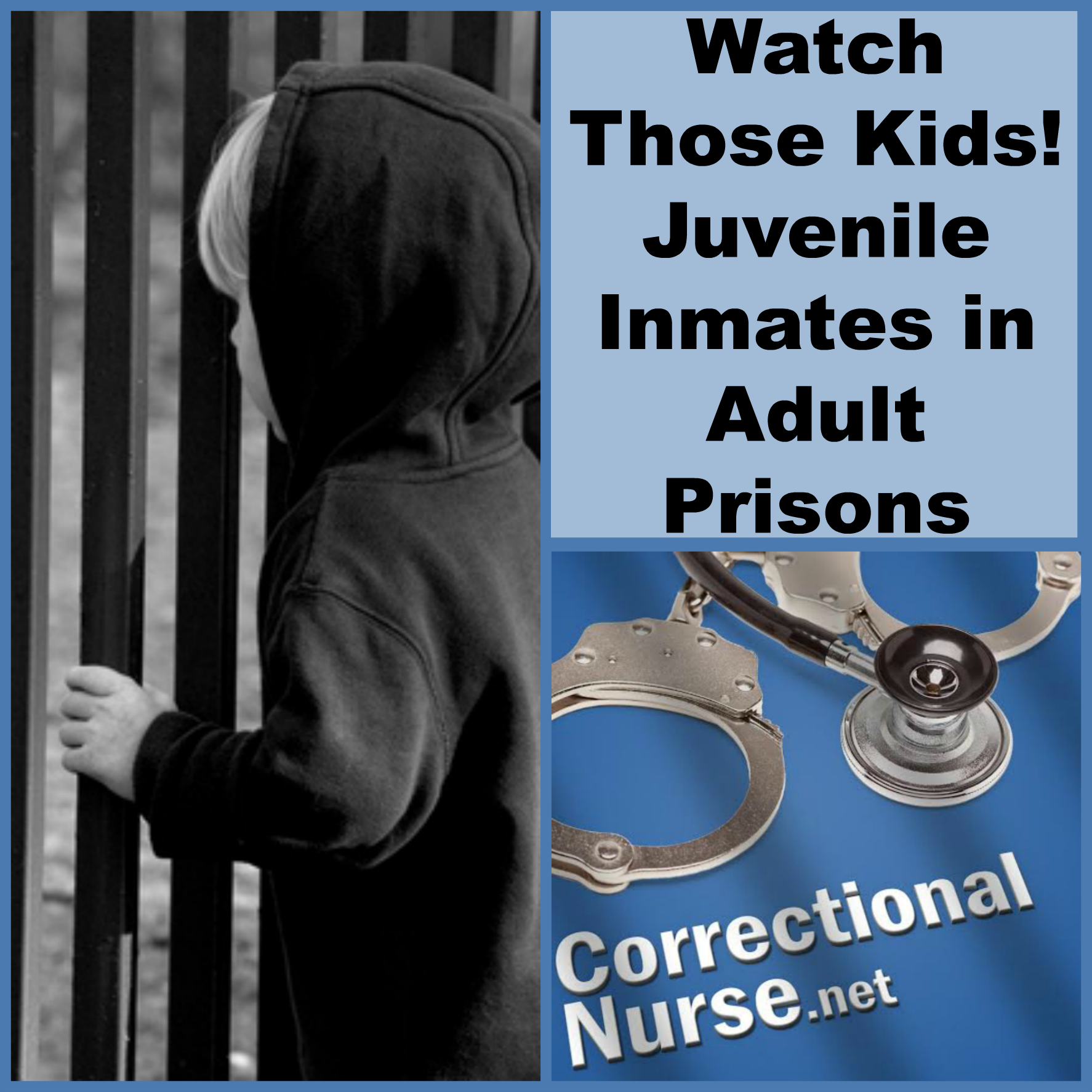 kids in adult prisons Incarcerated childhood: us kids prosecuted as adults - duration: 3:55 juveniles in adult prison: a disastrous idea - duration: 10:52.