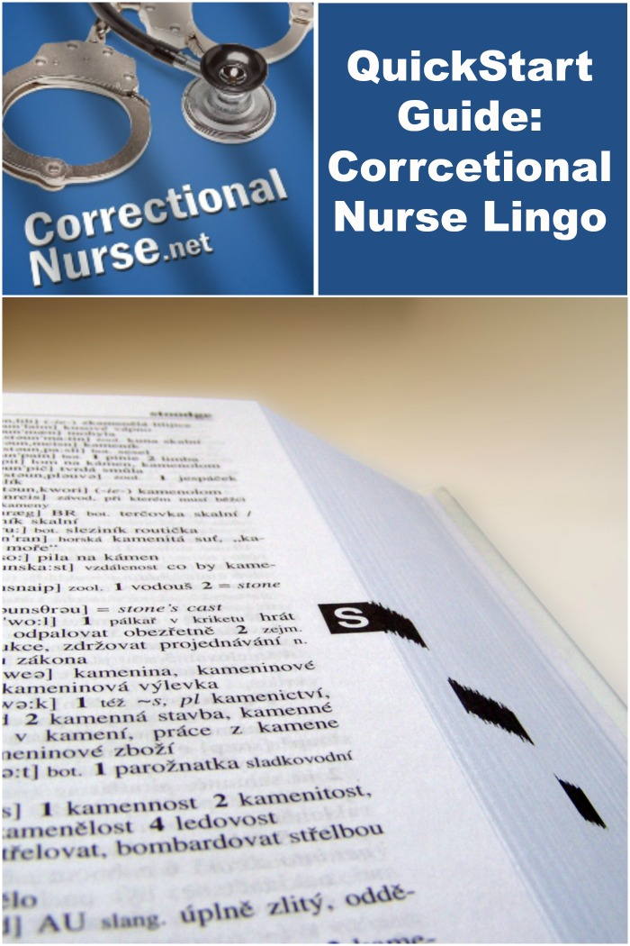 Quickstart guide correctional nurse lingo correctional nurse net fandeluxe Image collections