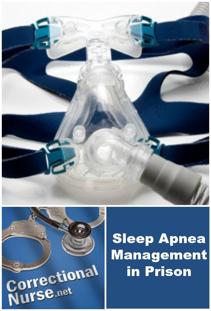 Sleep Apnea Management in Prison