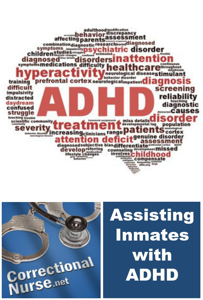 Assisting Inmates with ADHD