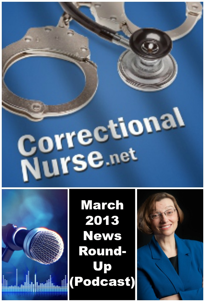 March 2013 News Round-Up (Podcast)