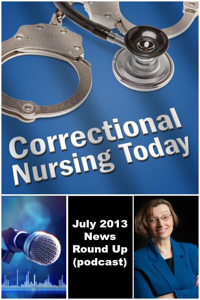 July 2013 News Round Up (podcast)