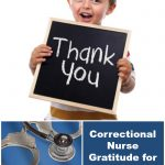 Correctional Nurse Gratitude for Correctional Officers on Thanksgiving