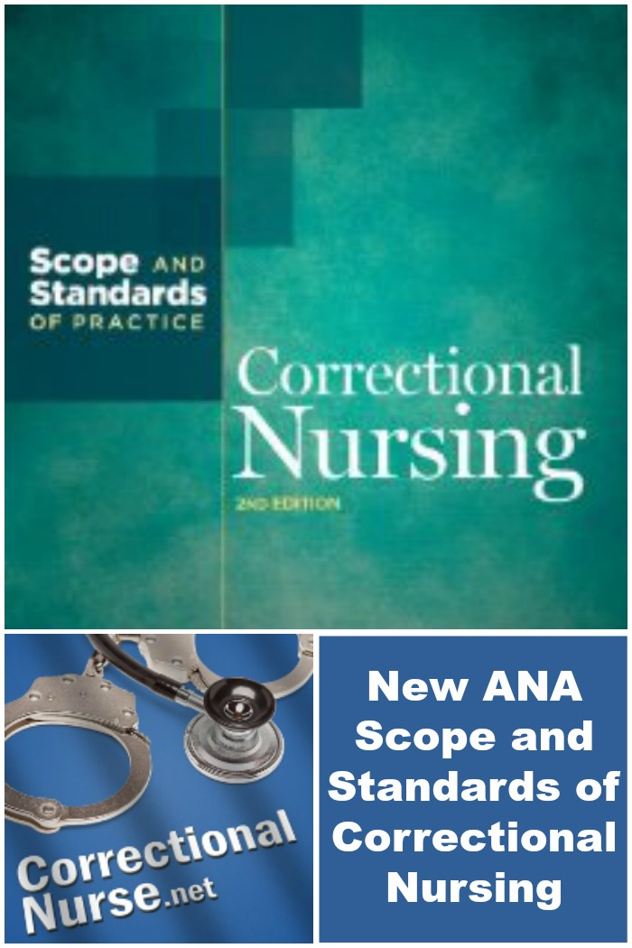New ANA Scope and Standards of Correctional Nursing