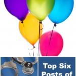 Top Six Posts of 2013