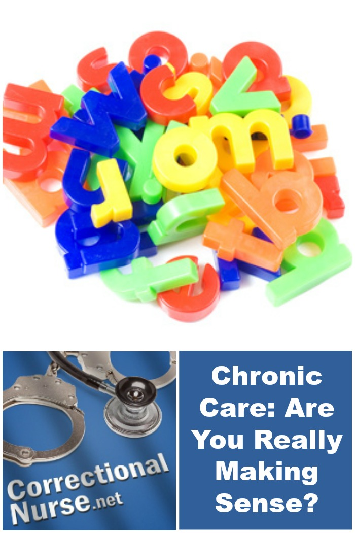 Chronic Care Are You Really Making Sense