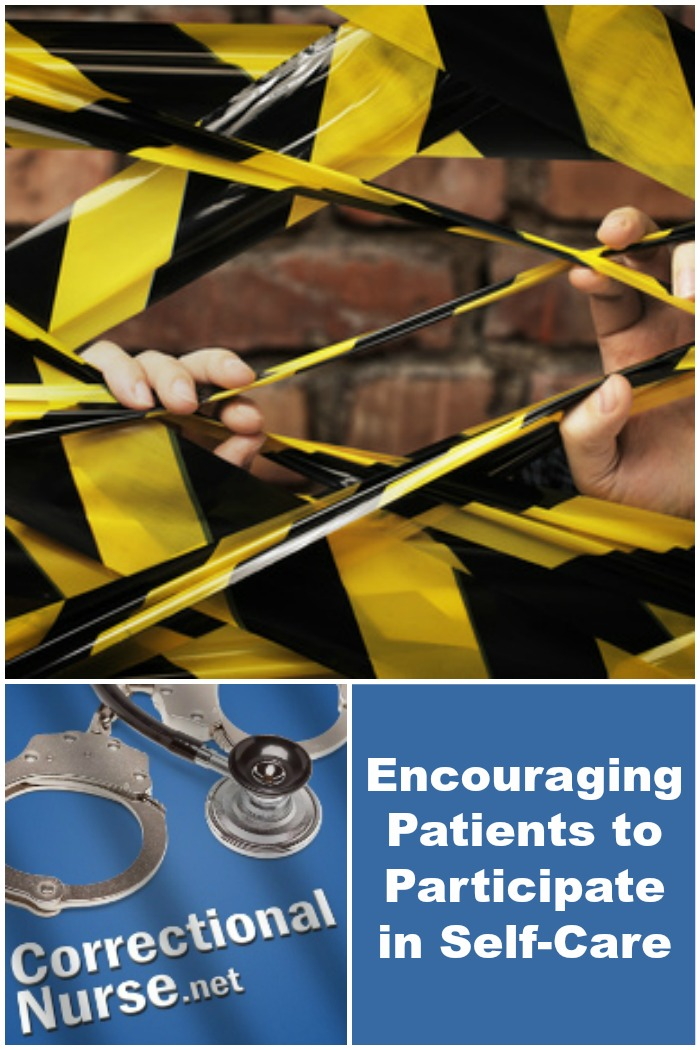 Encouraging Patients to Participate in Self-Care