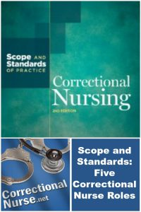 Scope and Standards: Five Correctional Nurse Roles