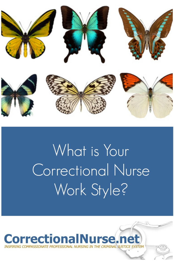 What is Your Correctional Nurse Work Style?