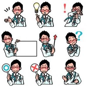 医者の表情