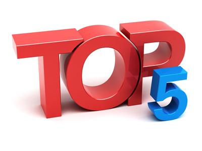 Top 5 Posts of 2014