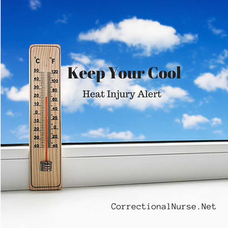 Keep Your Cool: Heat Injury Alert