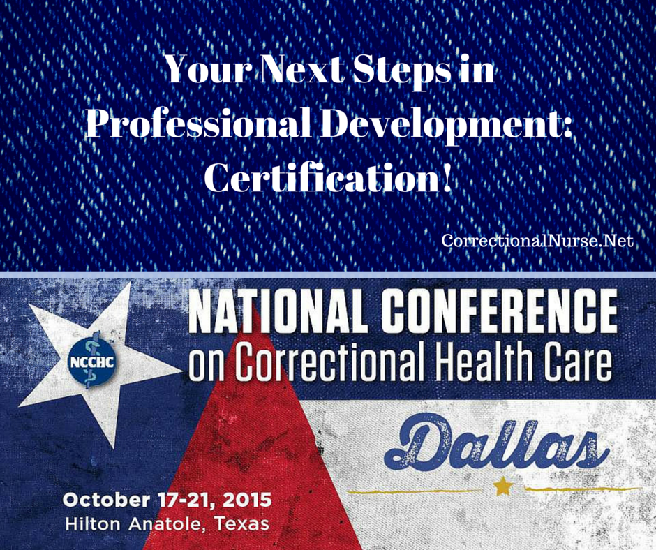 Your Next Steps in Professional Development: Certification!