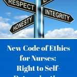 New Code of Ethics for Nurses: The Right to Self Determination