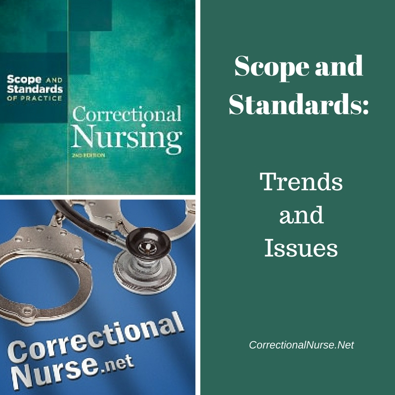 The basics of caring for criminals correctional nurse net scope and standards trends and issues in correctional nursing fandeluxe Image collections