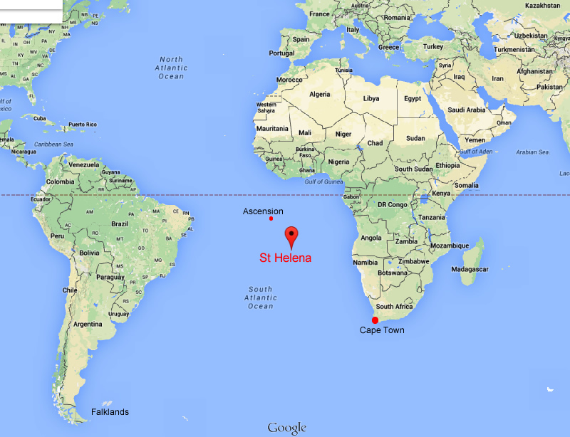 St Helena On World Map.St Helena World Map Correctional Nurse Net