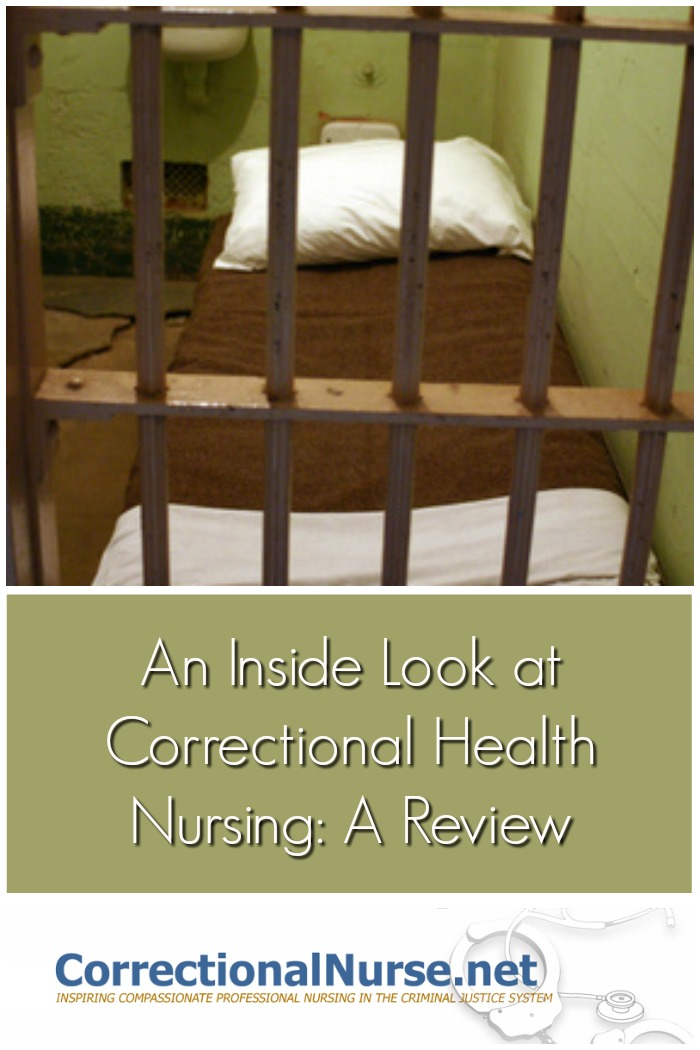 """This is a review of """"An Inside Look at Correctional Health Nursing"""" by Lois Gerber, a guardian ad litem from Florida."""