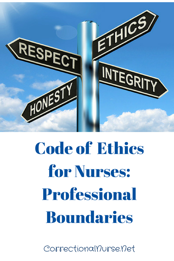 Code Of Ethics For Nurses Professional Boundaries