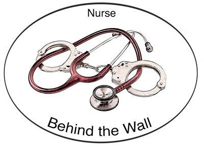 Nurse Behind the Wall decal
